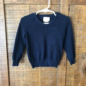 Jcrew Crewcuts v-neck sweater